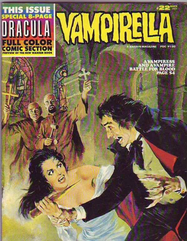 Vampirella Magazine #22 (Mar-73) VF+ High-Grade