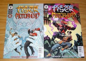 King Tiger & Motorhead #1-2 VF/NM complete series - dark horse comics greatest