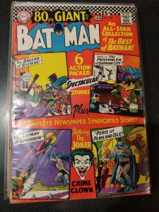 BATMAN #187 80 PAGE GIANT JOKER ISSUE