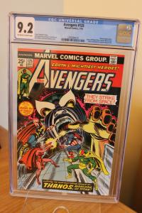 The Avengers #125 (Marvel, 1974) CGC NM- 9.2 Off-white to white pages