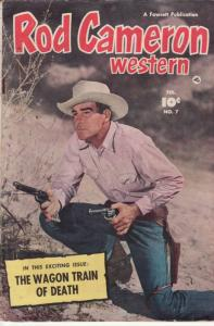 ROD CAMERON WESTERN #7 PHOTO COVER EGYPTIAN COLLECTION VG/FN