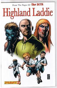 HIGHLAND LADDIE #2, The Boys, NM, Garth Ennis, Darick Robertson, 2010, McCrea