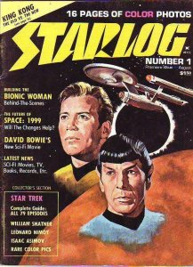 Starlog #1 (Aug-76) VF High-Grade