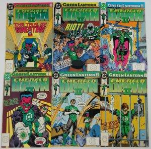 Green Lantern: Emerald Dawn II #1-6 FN/VF complete series KEITH GIFFEN 2 3 4 5