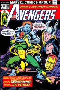 Avengers (1963 series) #135, Fine+ (Stock photo)