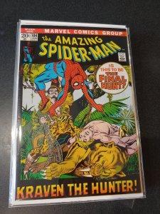 Amazing Spiderman 104 VG+ Ka-Zar Kraven the Hunter high grade