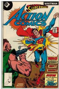 ACTION 486 VG-F  WHITMAN edition scarce