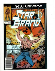 12 Marvel Comics Star Brand 8 13 14 15 16 17 18 19 Annual 1 Light and Dark + HG1
