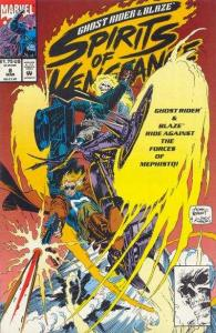 Ghost Rider/Blaze: Spirits of Vengeance #8, NM (Stock photo)
