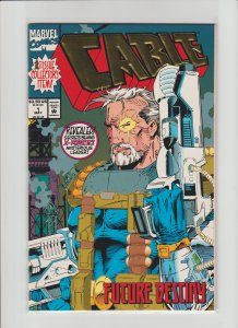 Cable #1 (1993) NM 9.4 High Grade! Gold Foil Cover!!