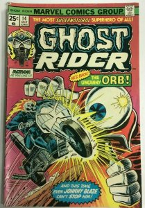 GHOST RIDER#14 VG/FN 1975 MARVEL BRONZE AGE COMICS