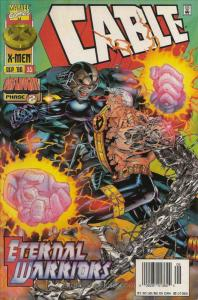 Cable #35 (Newsstand) VF/NM; Marvel   save on shipping - details inside