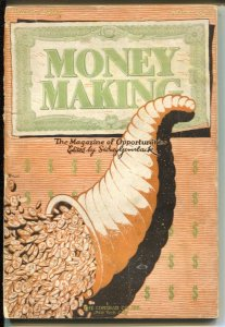 Money Making #2 11/1926-How To Trade On Wall Street-spook house-VG