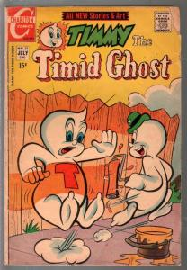 Timmy The Timid Ghost #23 1971-Charlton-paint ice cover-VG-