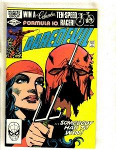 Daredevil # 179 NM Marvel Comic Book Frank Miller Elektra Bullseye Hand HJ9