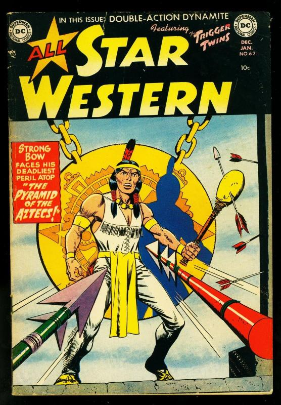 All Star Western #62 1951- DC Comics- Strong Bow- Trigger Twins- VG