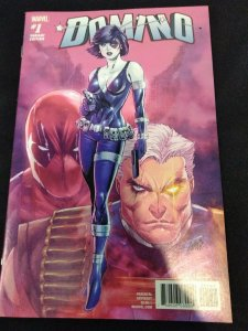Domino #1 Liefeld Variant 1:25 Incentive Cover Marvel Comics 2018 Deadpool