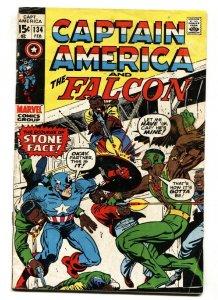 CAPTAIN AMERICA AND THE FALCON #134 comic book 1971 MARVEL VG-