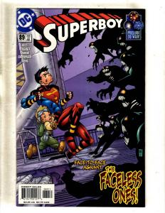 9 DC Comic Books Superboy # 83 84 85 88 89 90 + Superman # 166 173 201 J360