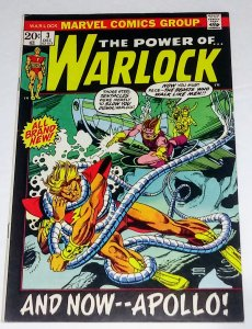 Warlock #3 (7.5) AND NOW...APOLLO! see more Bronze Age Marvel ID#010C
