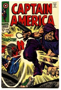 CAPTAIN AMERICA #108 comic book 1968 MARVEL COMICS JACK KIRBY VF+