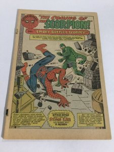 Amazing Spider-Man 20 Coverless First Scorpion Marvel Silver Age