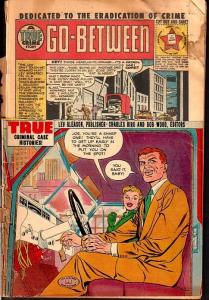 CRIME AND PUNISHMENT #52-DYNAMITE TRAP COVER-1952 G