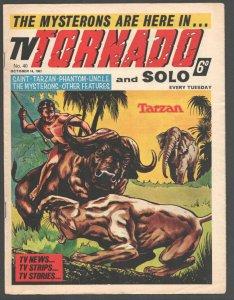 TV Tornado #40 1967-British-Man From UNCLE-Capt Scarlet & Mysterons-Tarzan-Sa...