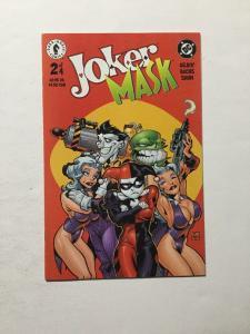 Joker Mask 2 Of 4 & 4 Of 4 Nm Near Mint