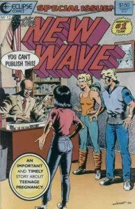 THE NEW WAVE #12, NM-, Eclipse, 1986 1987, more Indies in store