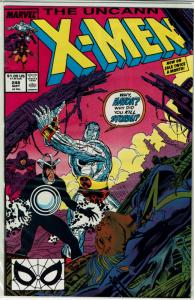 Uncanny X-Men #248, NM+, *KEY* 1st JIM LEE Artwork on X-Men!