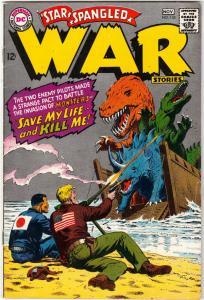 Star Spangled War Stories #135 (Nov-67) FN/VF+ High-Grade Dinosaur