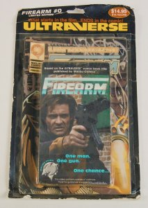 Firearm #0 + VHS with original card RARE RED VARIANT james robinson ultraverse