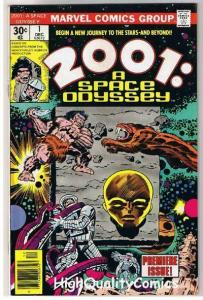 2001 A SPACE ODYSSEY 1, VF, Jack Kirby, Stanley Kubrick, more JK in store