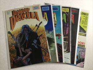 Blood Of Dracula 1 14 17 18 19 Big Bad Blood Of Dracula Lot Very Fine 8.0 Apple