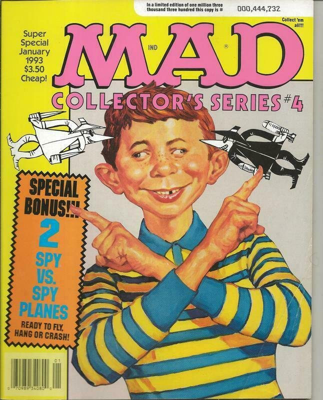 ORIGINAL Vintage Jan 1993 Mad Magazine Collectors Series #4