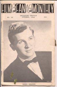 Film Fan Monthly #64 10/1966-Eddie Bracken-Leonard Maltin-VG