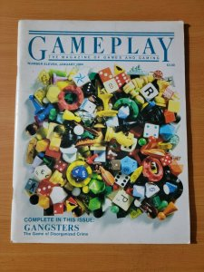 Game Play Magazine #11 ~ VERY FINE VF ~ January 1984 RPG's Gangsters Vintage