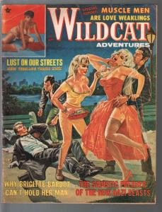 Wildcat Adventures 9/1963-Brigitte Bardot & Sabrina cheesecake-exploitation-VG