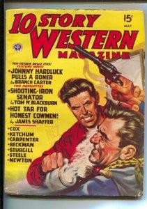 10 Story Western 5/1947-Popular-Pulp thrills by Gunnison Steele, Philip Ketch...