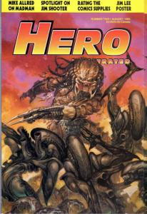 Hero Illustrated #2 VF/NM; Warrior | save on shipping - details inside