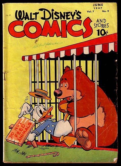 WALT DISNEY'S COMICS & STORIES #81-CARL BARKS G/VG