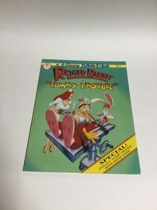 Roger Rabbit Disney Movie Book 1 SC Softcover Oversized