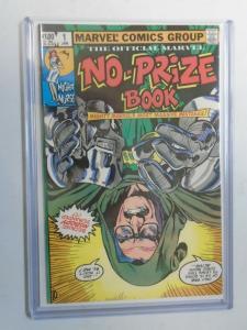 Marvel No-Prize Book #1 Direct 8.5 VF+ (1982)