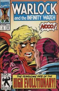 Marvel WARLOCK AND THE INFINITY WATCH #3 VF/NM