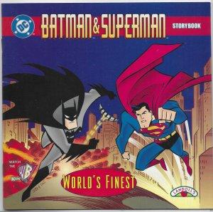 Batman and Superman  : World's Finest storybook (Landoll's)