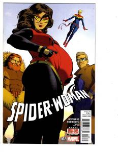 2 Spider-Woman Marvel Comic Books # 2 5 Spider-Man Captain Marvel Hopeless WM7