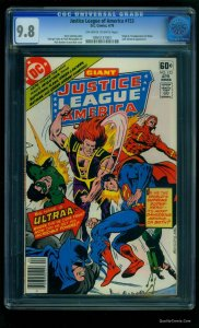 Justice League Of America #153 CGC NM/M 9.8 Off-White to White Tongie Farm Co...