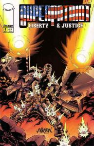 Superpatriot: Liberty And Justice #4 VF/NM; Image   save on shipping - details i