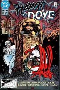 Hawk and Dove (1989 series) #26, NM- (Stock photo)